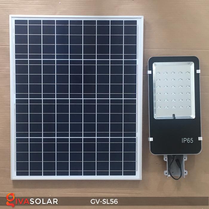 Đèn đường LED năng lượng mặt trời SL56 1