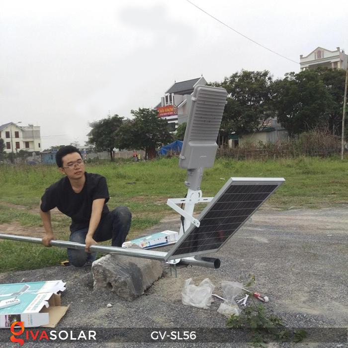 Đèn đường LED năng lượng mặt trời SL56 12