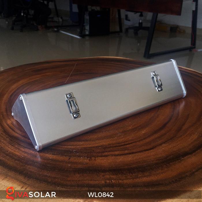 Đèn năng lượng mặt trời gắn tường WL0842 12