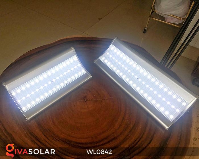 Đèn năng lượng mặt trời gắn tường WL0842 3