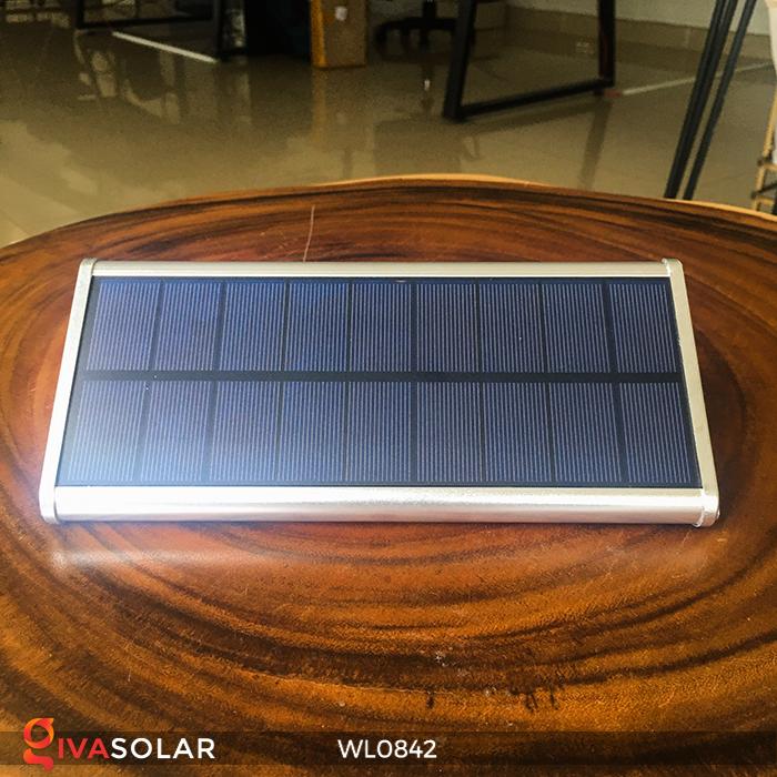 Đèn năng lượng mặt trời gắn tường WL0842 8
