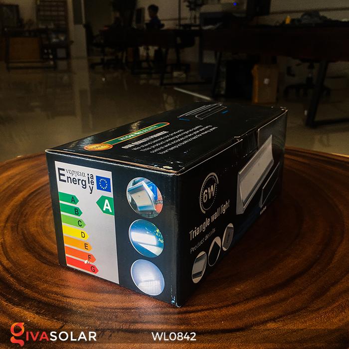 Đèn năng lượng mặt trời gắn tường WL0842 9