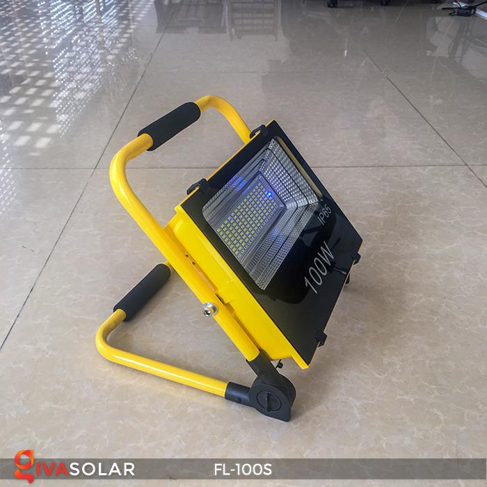 Đèn pha sạc năng lượng mặt trời FL-100S 1