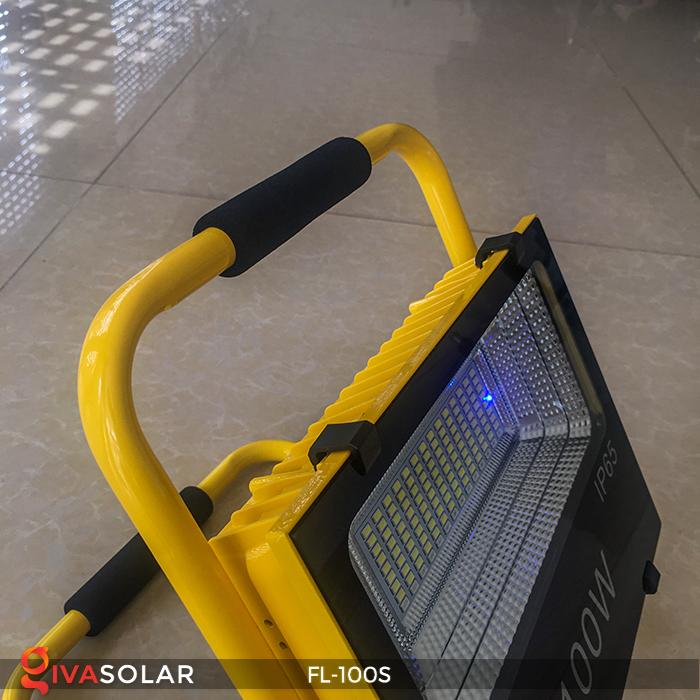 Đèn pha sạc năng lượng mặt trời FL-100S 10