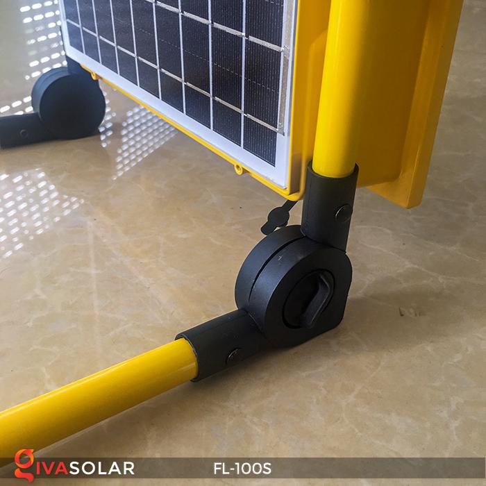 Đèn pha sạc năng lượng mặt trời FL-100S 12
