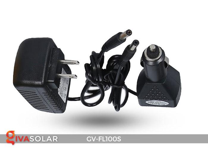 Đèn pha sạc năng lượng mặt trời FL-100S 16