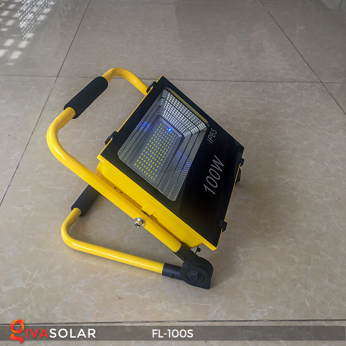 Đèn pha sạc năng lượng mặt trời FL-100S 3