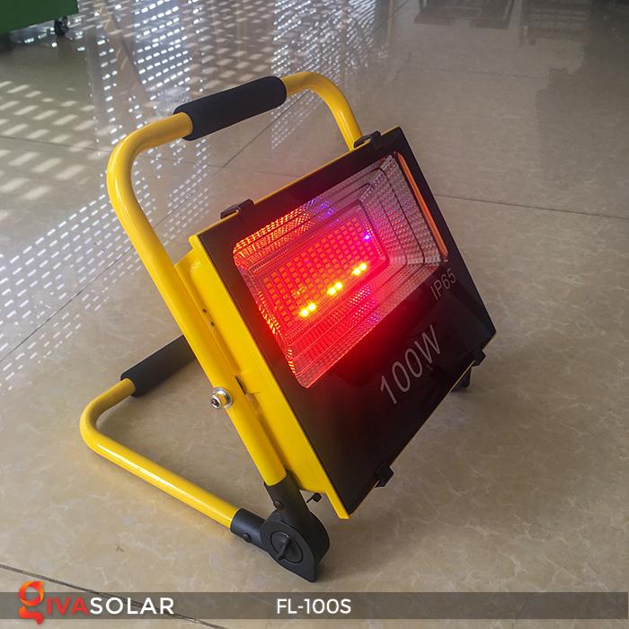 Đèn pha sạc năng lượng mặt trời FL-100S 5