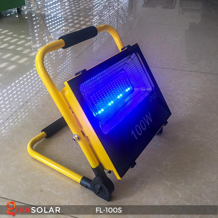 Đèn pha sạc năng lượng mặt trời FL-100S 6