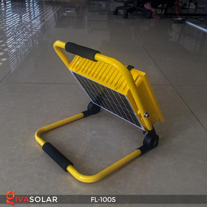 Đèn pha sạc năng lượng mặt trời FL-100S 7