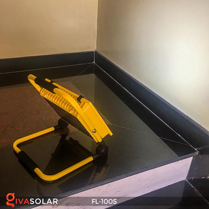 Đèn pha sạc năng lượng mặt trời FL-100S 8