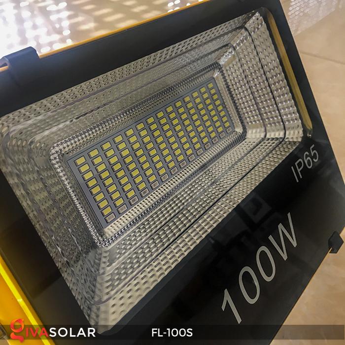 Đèn pha sạc năng lượng mặt trời FL-100S 9