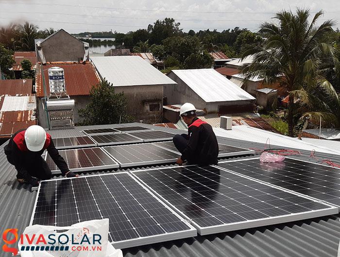Hoàn thành hệ thống năng lượng mặt trời 4 kW tại Cần Thơ 6