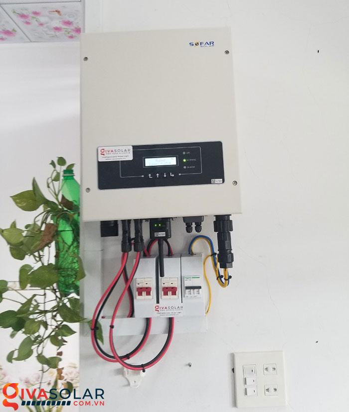 Hoàn thành hệ thống năng lượng mặt trời 4 kW tại Cần Thơ 7