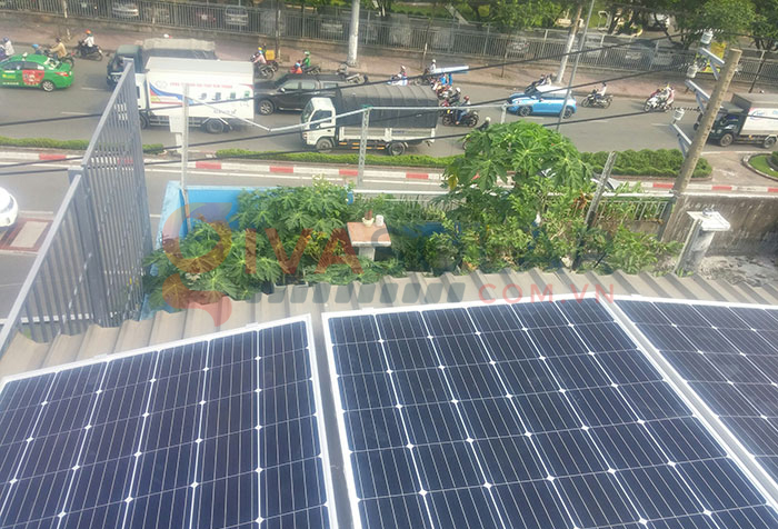 Hoàn thành lắp đặt hệ thống điện mặt trời 3kW tại Tân Phú 1