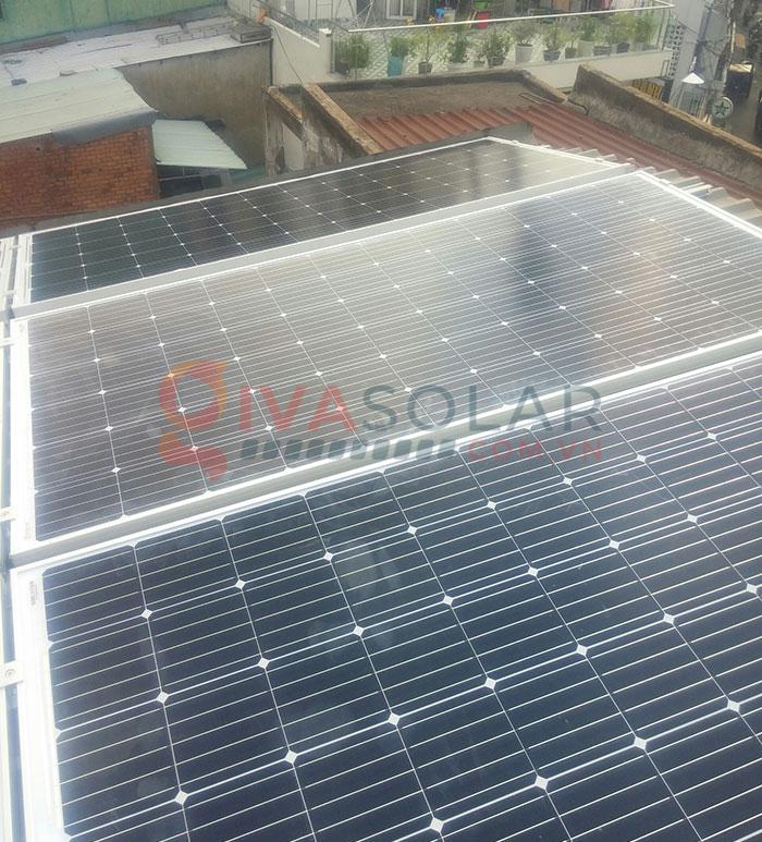 Hoàn thành lắp đặt hệ thống điện mặt trời 3kW tại Tân Phú 2