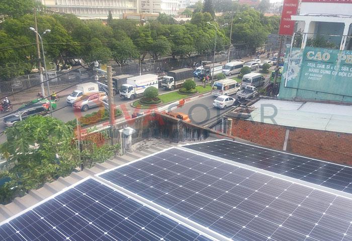 Hoàn thành lắp đặt hệ thống điện mặt trời 3kW tại Tân Phú 3