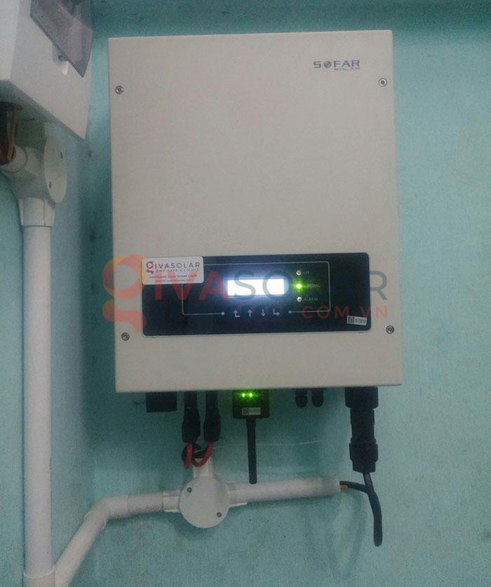 Hoàn thành lắp đặt hệ thống điện mặt trời 3kW tại Tân Phú 5