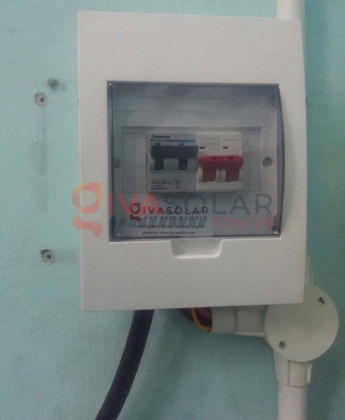 Hoàn thành lắp đặt hệ thống điện mặt trời 3kW tại Tân Phú 6