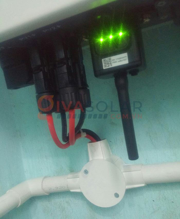 Hoàn thành lắp đặt hệ thống điện mặt trời 3kW tại Tân Phú 7