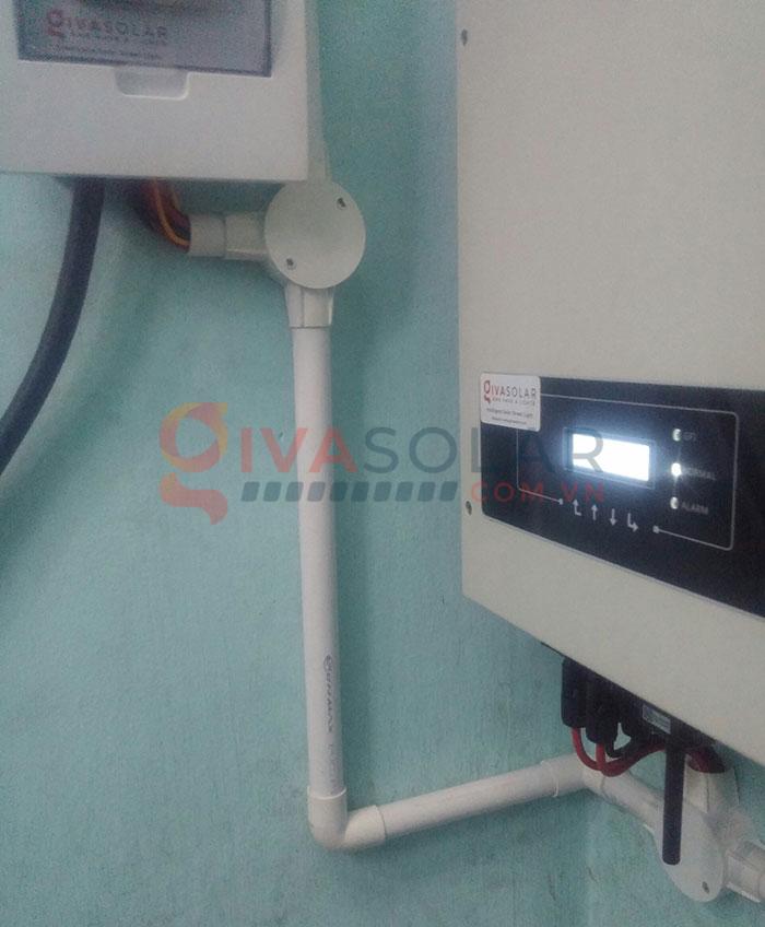 Hoàn thành lắp đặt hệ thống điện mặt trời 3kW tại Tân Phú 8