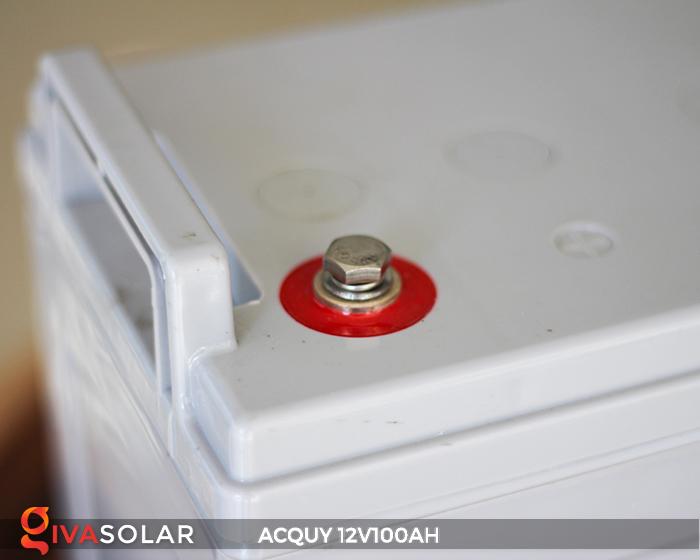 Acquy sử dụng trong công nghệ năng lượng mặt trời 12V100AH 10