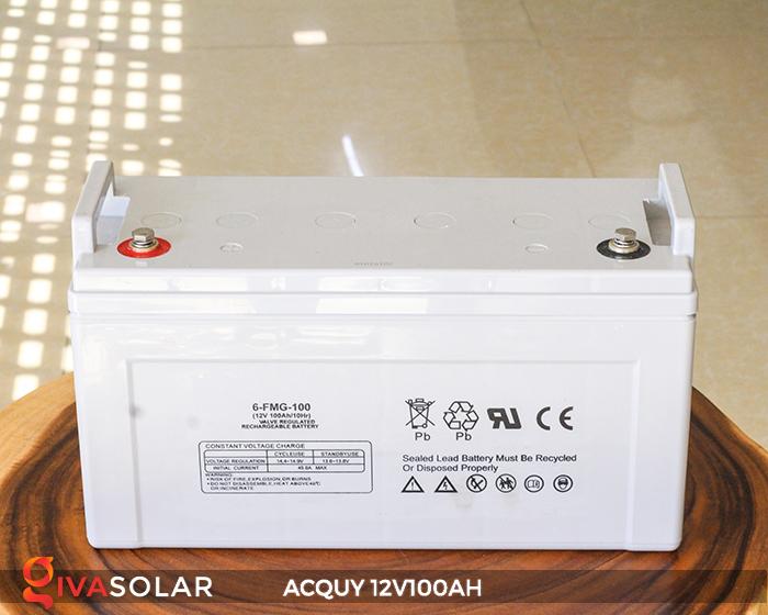 Acquy sử dụng trong công nghệ năng lượng mặt trời 12V100AH 3