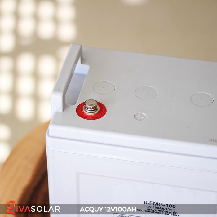 Acquy sử dụng trong công nghệ năng lượng mặt trời 12V100AH 7