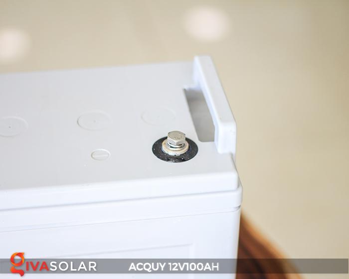 Acquy sử dụng trong công nghệ năng lượng mặt trời 12V100AH 9