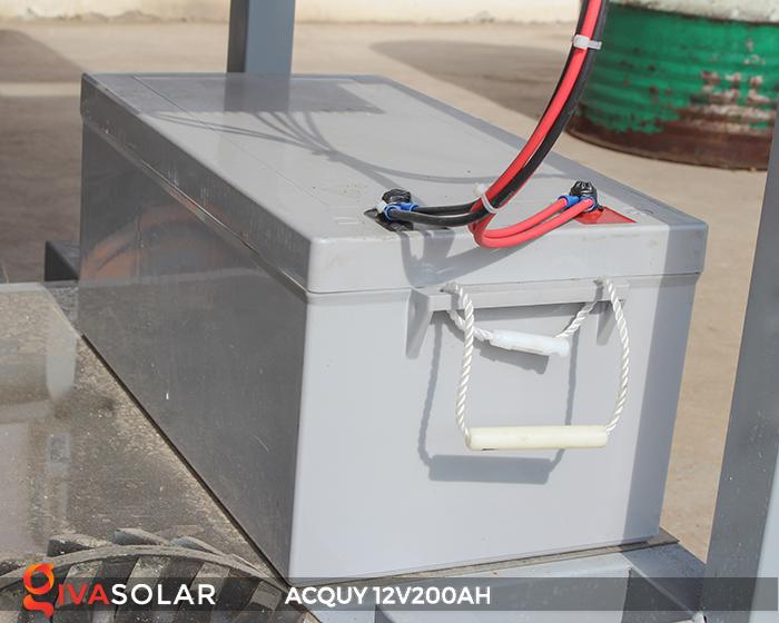 Acquy 12V200AH ứng dụng trong điện năng lượng mặt trời 4