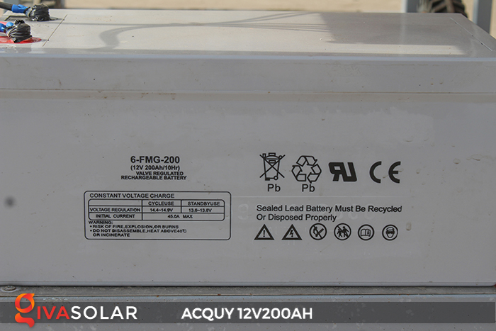 Acquy 12V200AH ứng dụng trong điện năng lượng mặt trời 6