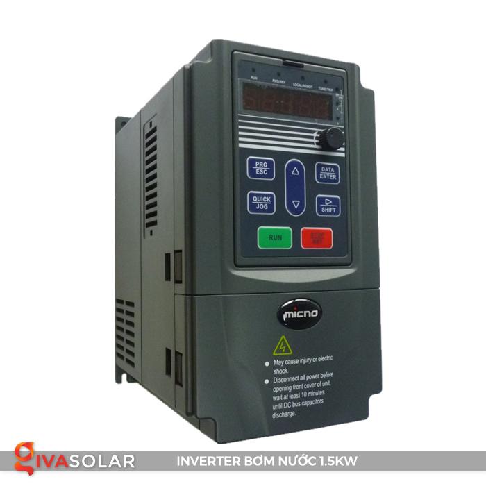 Biến tần hệ thống bơm nước mặt trời KE300A-1R5G-S2 1