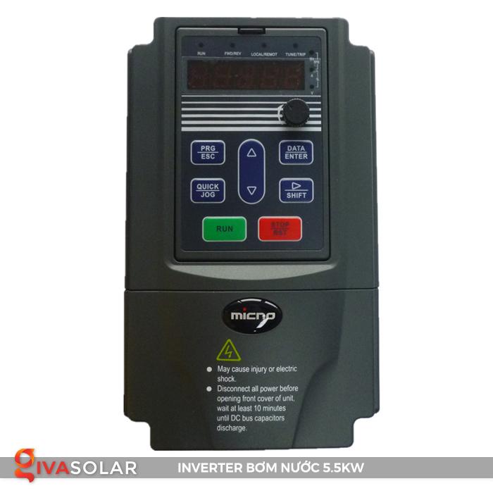 Biến tần lắp đặt cho hệ thống bơm nước KE300A-5R5G-S2 1