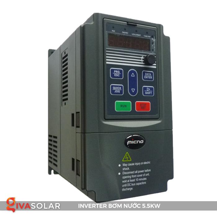 Biến tần lắp đặt cho hệ thống bơm nước KE300A-5R5G-S2 2