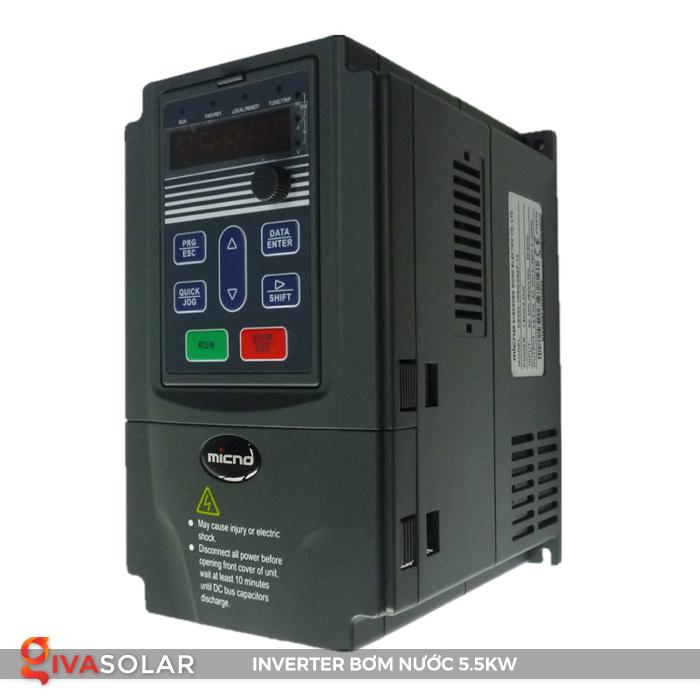 Biến tần lắp đặt cho hệ thống bơm nước KE300A-5R5G-S2 3