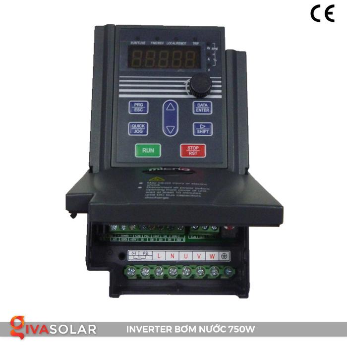 Bộ biến tần cho hệ thống bơm nước mặt trời KE300A-0R7G-S2 1