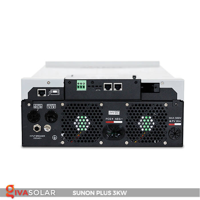 Bộ inverter năng lượng mặt trời Sako SUNON-PLUS 3kW 10
