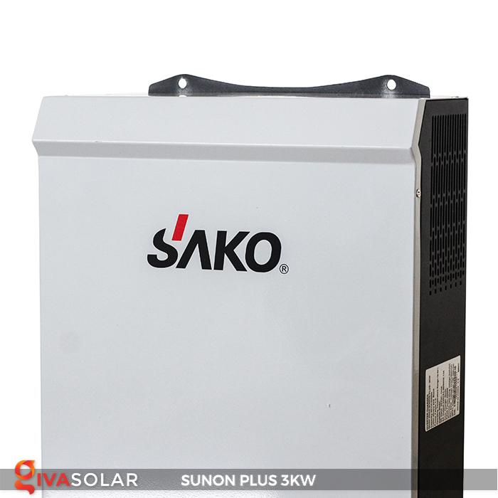 Bộ inverter năng lượng mặt trời Sako SUNON-PLUS 3kW 2