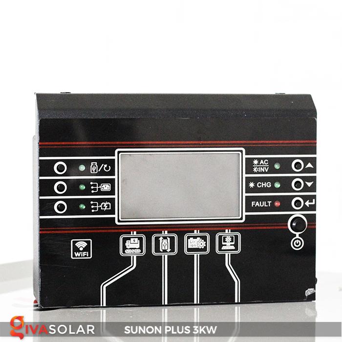 Bộ inverter năng lượng mặt trời Sako SUNON-PLUS 3kW 8