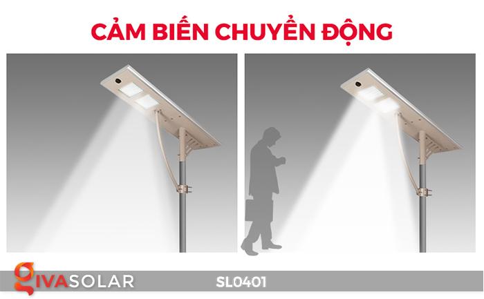 Đèn đường LED cao cấp năng lượng mặt trời SL0401 11