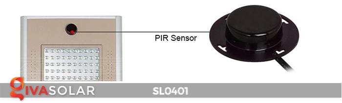 Đèn đường LED cao cấp năng lượng mặt trời SL0401 7