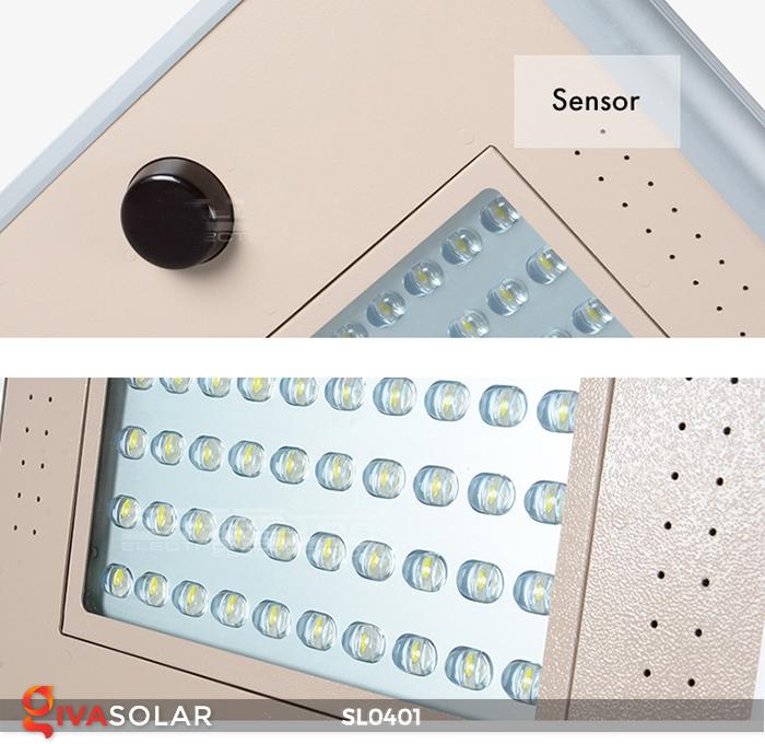 Đèn đường LED cao cấp năng lượng mặt trời SL0401 8