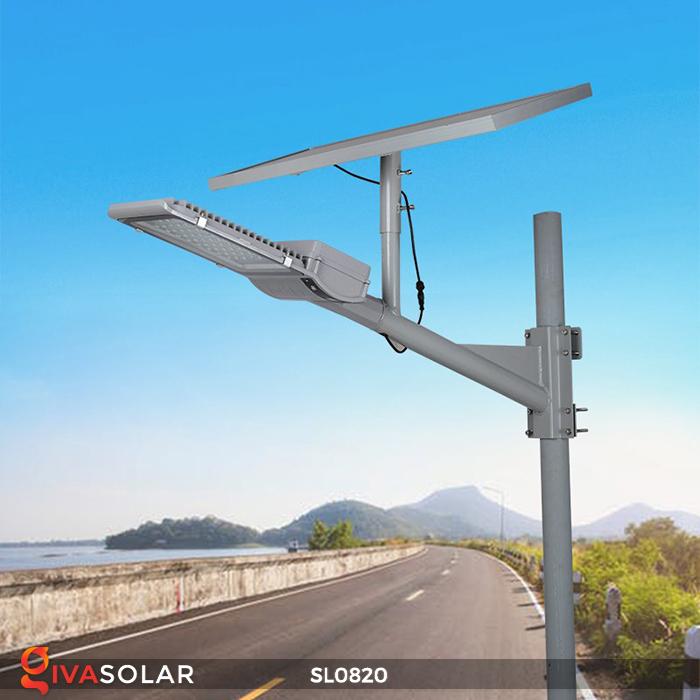 Đèn đường LED năng lượng mặt trời cao cấp SL0820 2