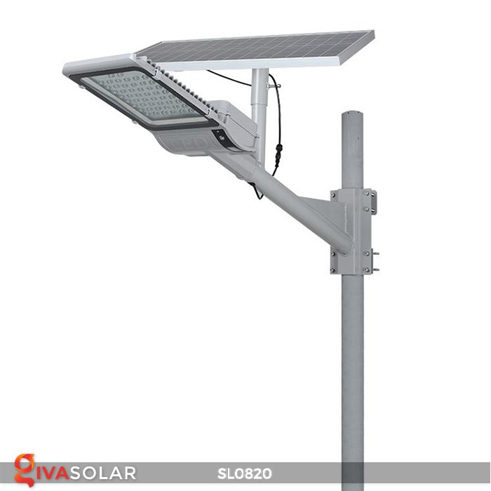 Đèn đường LED năng lượng mặt trời cao cấp SL0820 3