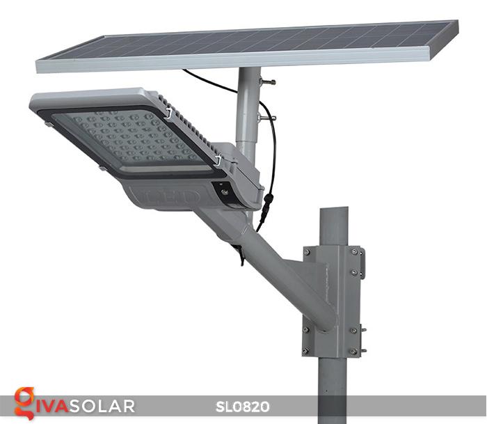 Đèn đường LED năng lượng mặt trời cao cấp SL0820 4