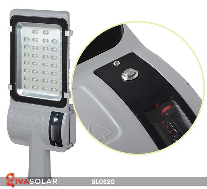 Đèn đường LED năng lượng mặt trời cao cấp SL0820 5