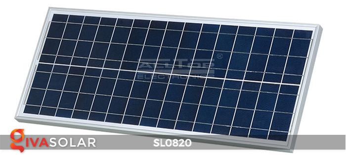 Đèn đường LED năng lượng mặt trời cao cấp SL0820 8