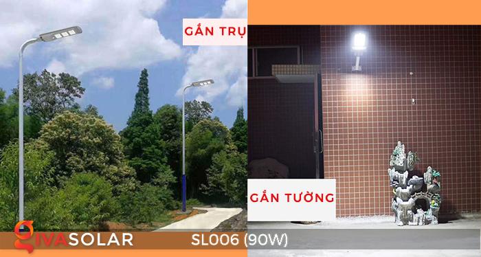 Đèn đường năng lượng mặt trời cao cấp SL006 90W 1