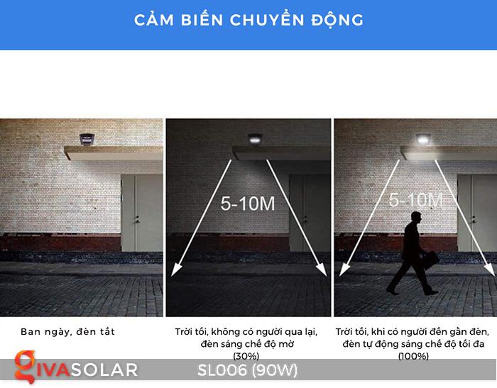 Đèn đường năng lượng mặt trời cao cấp SL006 90W 2