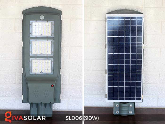 Đèn đường năng lượng mặt trời cao cấp SL006 90W 21